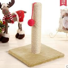 New Arrival Cat Toy Furniture & Scratchers Post PoleClaw kitty Furniture Mat Carpet Small Cute Cartoon(China (Mainland))