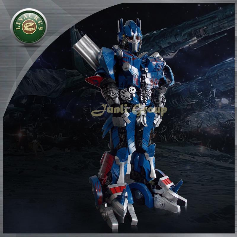 Lisaurus-I high quality Simulation EVA Optiumus Prime Costume,Realistic Transformers costume,Cosplay Optiumus Costume(China (Mainland))