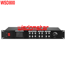 WisdomStar WSD800 LED Video Processor HDMI/DVI/VGA input 1920*1200 pixel LED rental screen video processor Special Offer(China (Mainland))