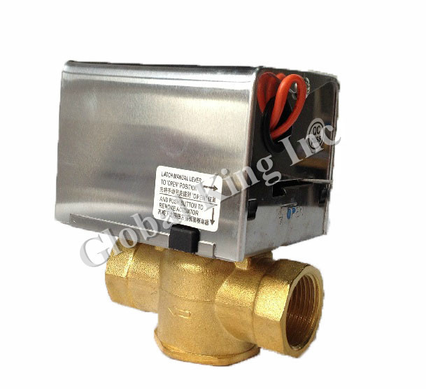 G 1 2 39 39 dn15 220v blue electric ball valve brass 2 way for 1 motorized ball valve