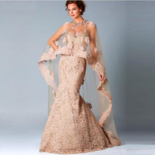 2016 Sweetheart Lace Mother of the Bride Dresses Mermaid Floor Length Sleeves With Jacket Formal Evening Gowns new arrival(China (Mainland))