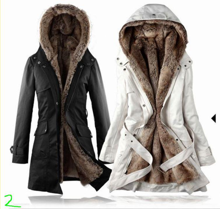 Removable Lining Womens Long Design Faux Fur ur Coats Winter Warm Coat Jacket Clothes Womens Clothing as Snow WearОдежда и ак�е��уары<br><br><br>Aliexpress