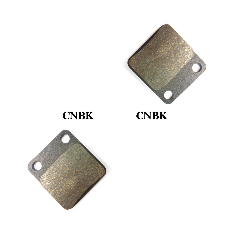 99 00 01 02 03 Front Left & Right Carbon Brake Pads fit for YAMAHA 350 YFM XA-XS Warrior YFM350 1992 - 2004(China (Mainland))
