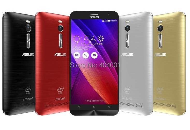 "Original Zenfone 2 ze551ml For Asus Intel Atom Z3580 Quad Core 2.3GHz FDD LTE 4G Android 5.0 5.5"" 1920*1080P 4GB RAM Phone W(China (Mainland))"