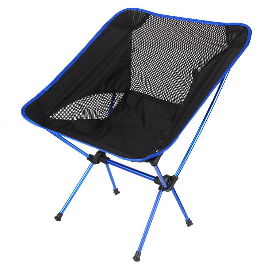 New Portable Folding Fishing Chair Beach Seat Lightweight Seat for Camping Hiking Fishing Festival Picnic BBQ Outdoor Chair Blue(China (Mainland))