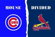Buy Chicago Cub vs St Louis Cardinals House Divided Rivalry Flag 90x150cm metal grommets 40043 for $4.76 in AliExpress store