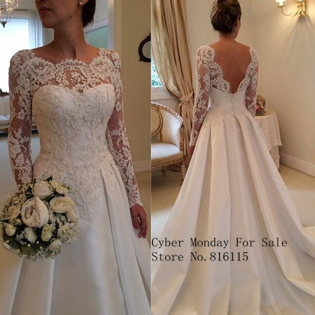 Free Shipping Vintage Anna Campbell Lace Backless Long Country Style Wedding Dress Bridal Gown Collection