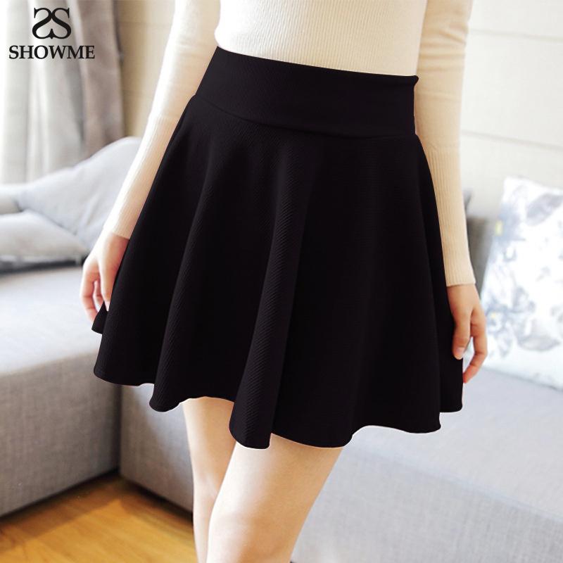 showme brands new skirt high waist fall winter skirt