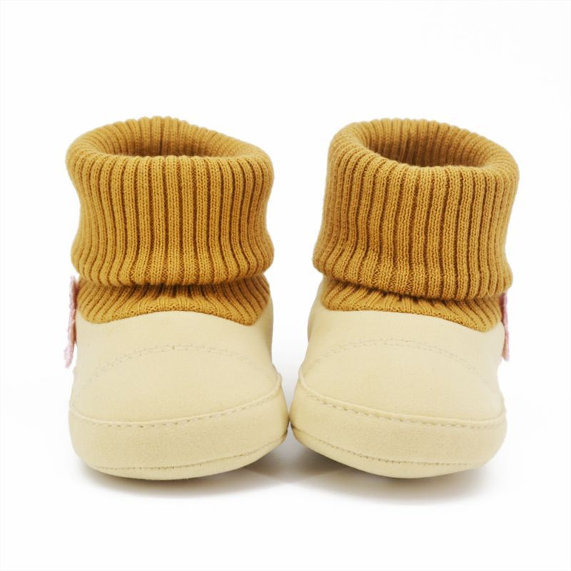 0-18 Month Toddlers Kids Baby High Knit Snow Boots Adjustable Crib Shoes Best(China (Mainland))