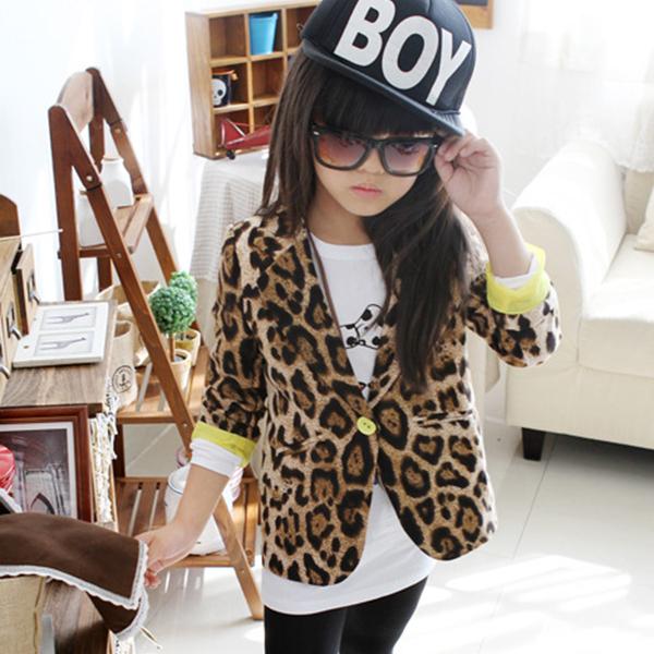 Куртка для девочек YRD Slim Fit , Leopard 1/6y XL265 блузка для девочек yrd 1 6y xl793
