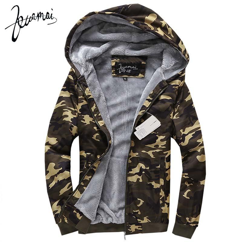 BO65 2016 Winter New Men'S Hoodies Fashion Brand Clothing Slim Plus Velvet Warm Camouflage Jacket Bape Shark Hoodie XXXL(China (Mainland))
