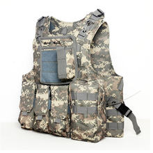 Buy Camouflage Hunting Military Tactical Vest Wargame Body Molle Armor Hunting Vest Multifunction CS Outdoor Sport Equipment 5Color for $35.99 in AliExpress store