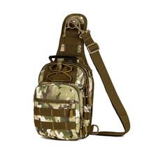 Norbinus 2018 masculino bolsa de ombro militar peito saco sling pacote tático sacos crossbody para homens à prova dwaterproof água sacos de cinto de náilon(China)