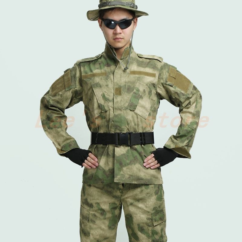 New military uniform 2015 Men and women jacket and pant woodland ...