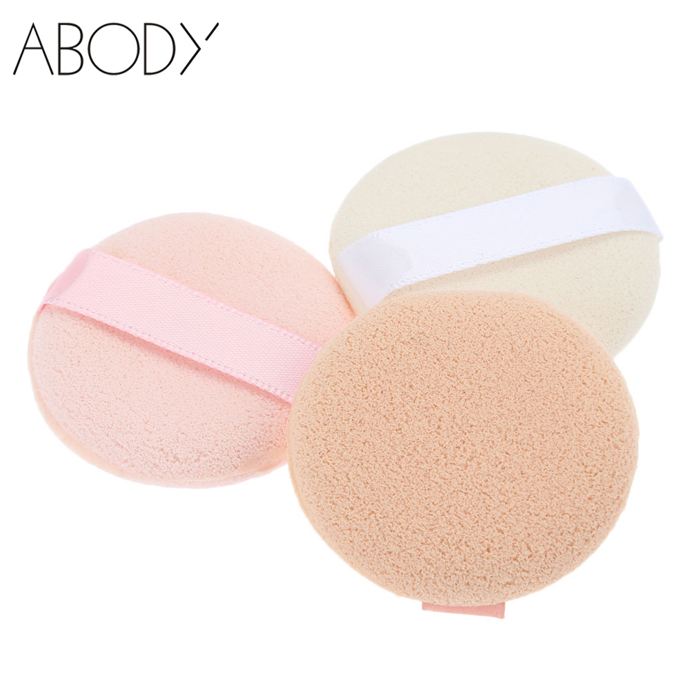 3PCS/Lot Makeup Sponge Powder Puff Liquid Cream Foundation Sponge Flawless Facial Powder Puff Make Up Tools Accessories(China (Mainland))