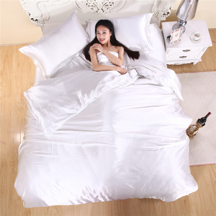 White Silk Sheets Wholesale White Silk And