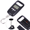 50kg 10g Portable Digital LCD Electronic Scale w Temperature Measurement Luggage Weight Scale Backlight Balance Weighing