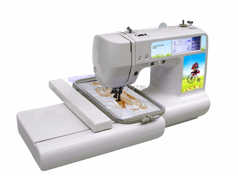 computerized embroidery machine
