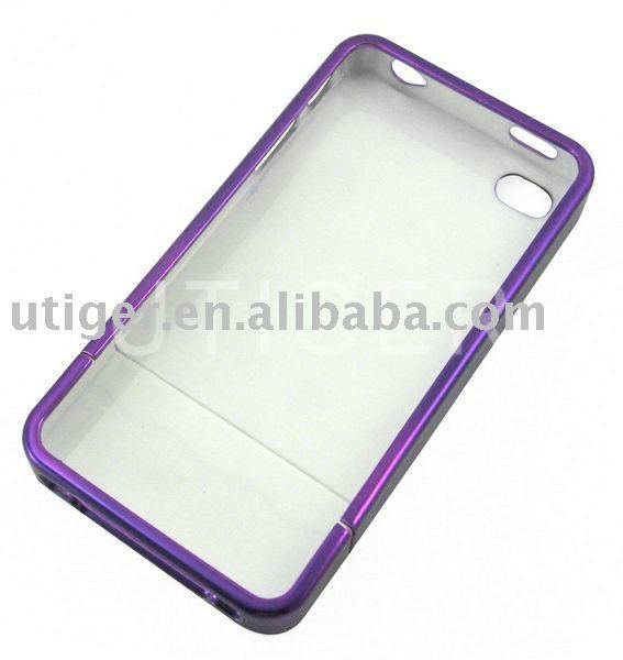10pcs/lot!Free shipping New Cell Phone Hard Plastic Case Cover For iPhone 4
