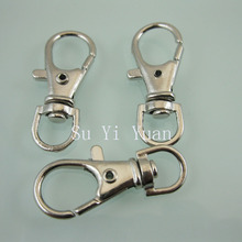 100pcs/lot  Diy hasp big lobster clasp keychain dog buckle length 35mm  FREE SHIPPING(China (Mainland))