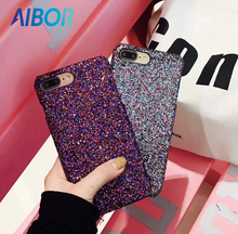 Buy NEW Luxury Colourful Sexy Diamond Secret Glitter Bling Paillettes Powder Sequins Case iPhone 7 6 6s Plus Sparkle Cover Women for $2.18 in AliExpress store