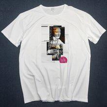 Футболки микеланжело мужские футболки Harajuku забавная Мужская футболка с рисунком хип-хоп 100% Хлопок Уличная футболка Футболки Топы Homme s-3L(China)