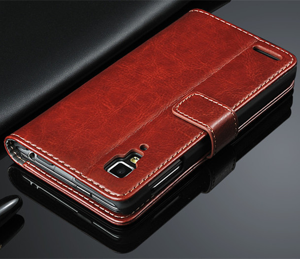 Brand Original Phone case Flip Wallet Leather Case Cover For Lenovo P780 with one Free Screen