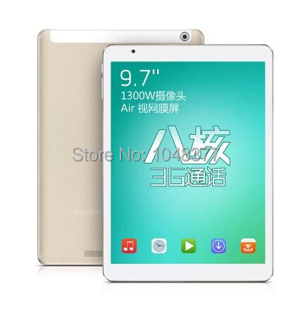 Планшетный ПК 9.7 ' Teclast P98 3G Octa MTK8392 GPS Tablet PC WCDMA 4.4.2 2 /16 camera13.0mp BT WIFI