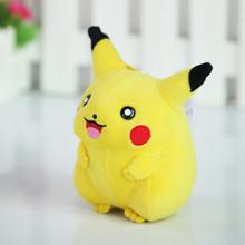 2016 New Pikachu 15cm Soft Plush Toy Anime Cartoon Kawaii Pikachu Stuffed Animal Dolls Baby Toys For Children