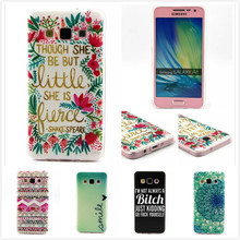 Samsung Galaxy A3 Case flower Heart dog TPU Silicone Mobile Phone Covers A300F SM-A300F,MY109 - Jucy's home store