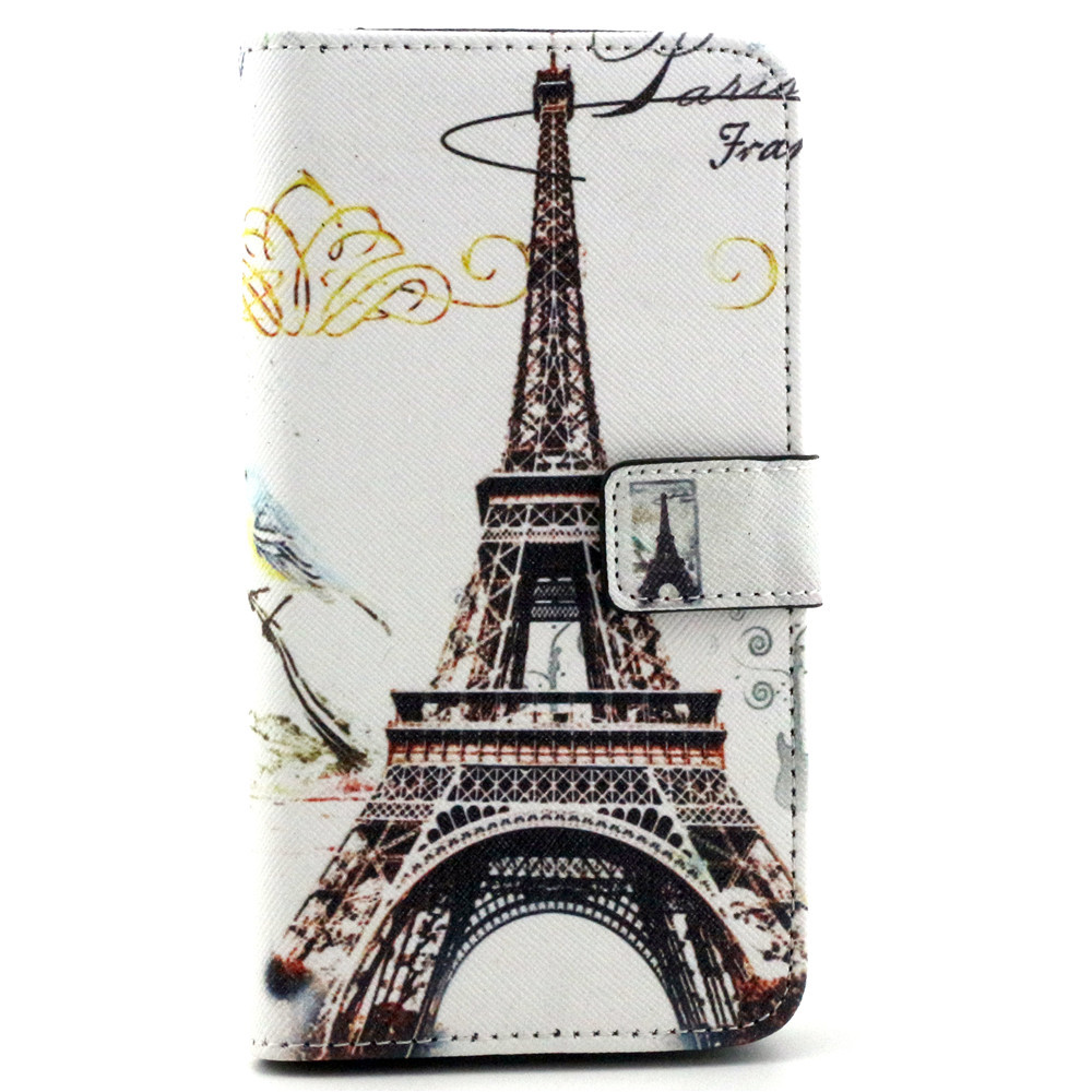 TOP selling mobile phone case xiangyun tower pattern popular leather cellphone case for LG G4 / L90/L70(China (Mainland))