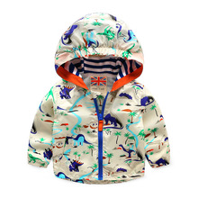 Male child outerwear baby outdoor jacket spring and autumn small clothes child font b trench b