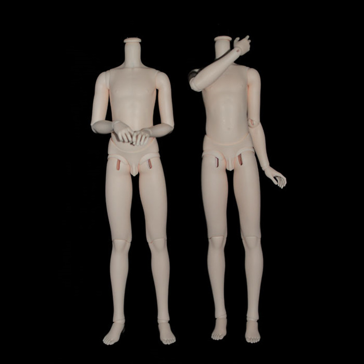 60cm 1/3 Resin BJD Doll Body Male 6 Colours(China (Mainland))