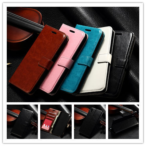 New Genuine Leather support card holder mobile phone case For HTC Desire Eye M910X, Take picture frames mobile phone bag(China (Mainland))