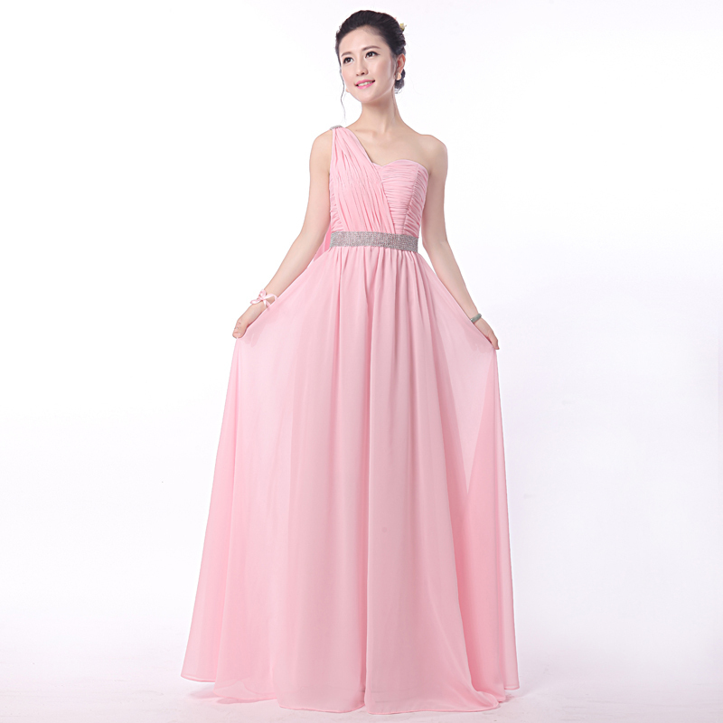2016 new plus size elegance long bridesmaid dresses cheap for Plus size wedding party dresses