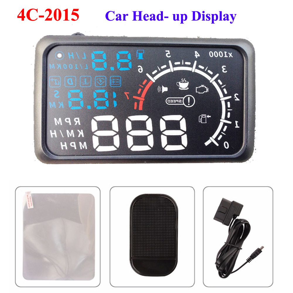 actisafety car styling universal car hud head up display 5. Black Bedroom Furniture Sets. Home Design Ideas