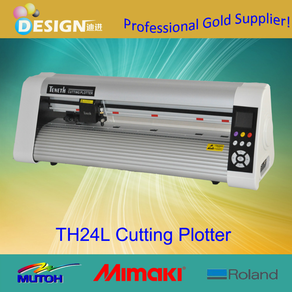 Model TH24L with Artcut software vinyl cutter pen plotter(China (Mainland))