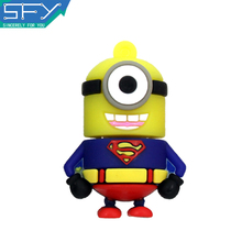 Real Capacity High speed 2015 New Cute Minions super hero  Usb flash drive 8gb/16gb/32gb pen drive pendrive memory stick PD0015