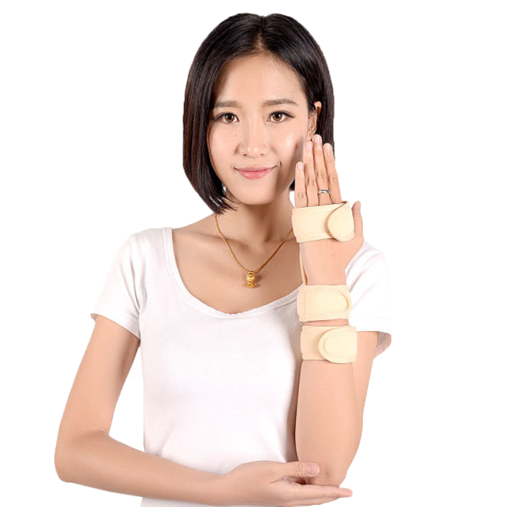 Wristbands Medical Wrist Support Brace Hand Finger Aluminum Splint Strap Fixator Carpal Tunnel Syndrome Fracture Arthritis Pain(China (Mainland))