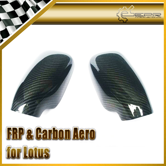Car-styling For Lotus Elise Exige S2 Real Carbon Fiber Side Mirror Cover(China (Mainland))