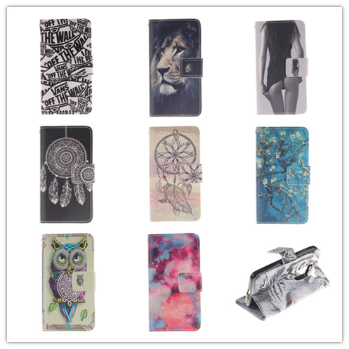 Luxury Magnetic Stand Wallet Pouch Flip PU Leather Phone Bags LG Leon 4G LTE H340N H320 H324 C50 C40 Soft TPU Back Cover - APbest Electronic Store store