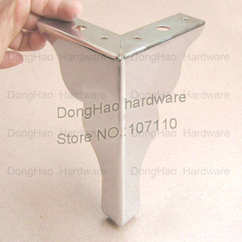 Foot Sofa Leg Adjule Stainless Steel Tv Cabinet Feet Shoe Hardware Furniture Ings