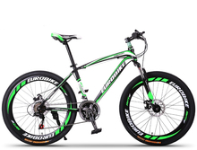 Men&Women High Quality Mountain Bike 21 Speed 26 Inch Double Disc Brake Bicycle,Fashion Road Bike,YZS010