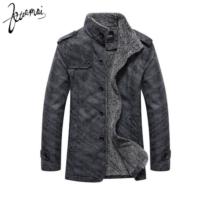 ZM61 PU Leather Jacket Men Fashion Brand High Quality Cashmere Thermal Plus Locomotive Business Casual Winter Jacket Men Coats(China (Mainland))