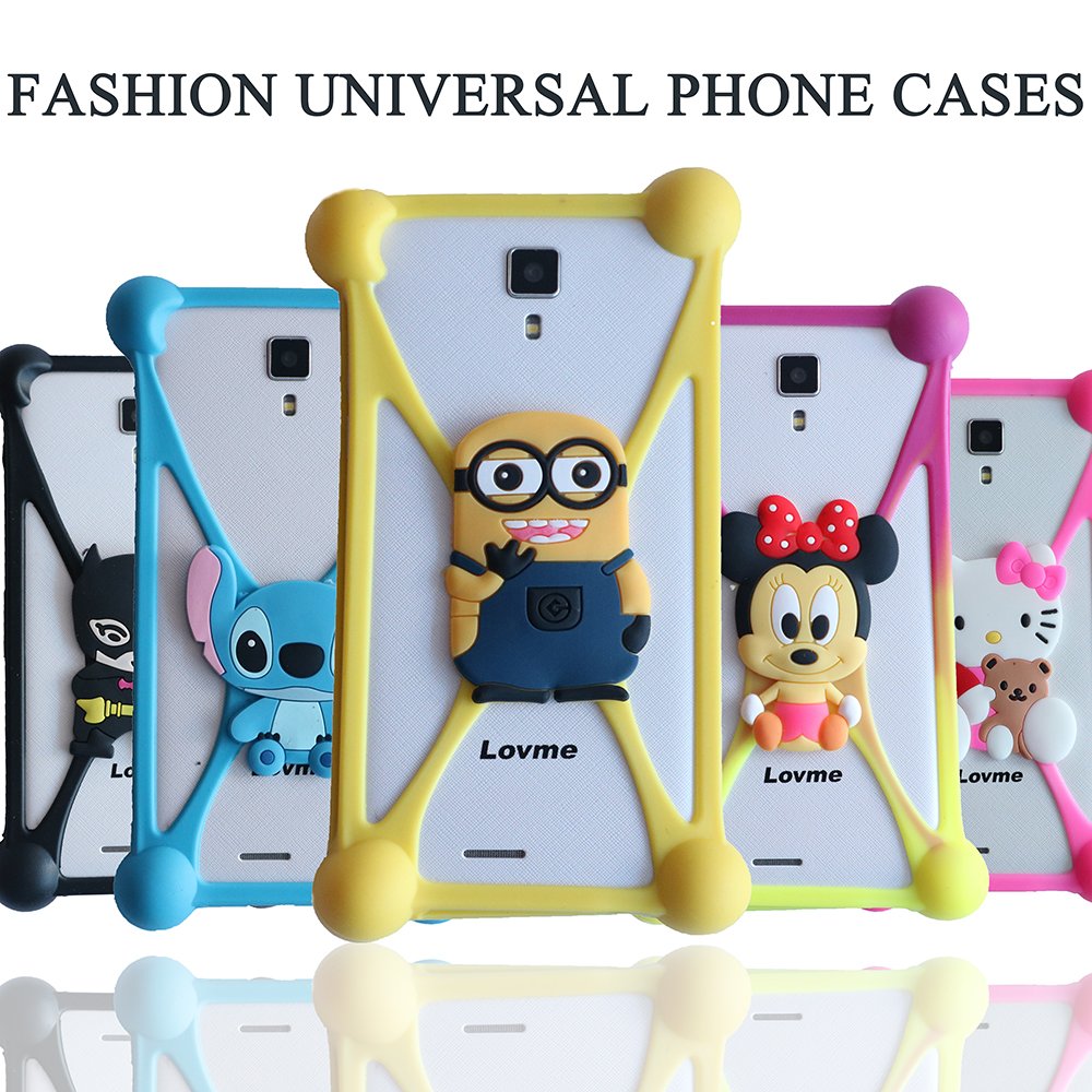 NEW Universal Silicon Mobile Phone Case For Nokia XL Dual SIM RM-1030 / RM-1042 For Samsung Sony ZTE Xiaomi Huawei Asus Vodafone(China (Mainland))