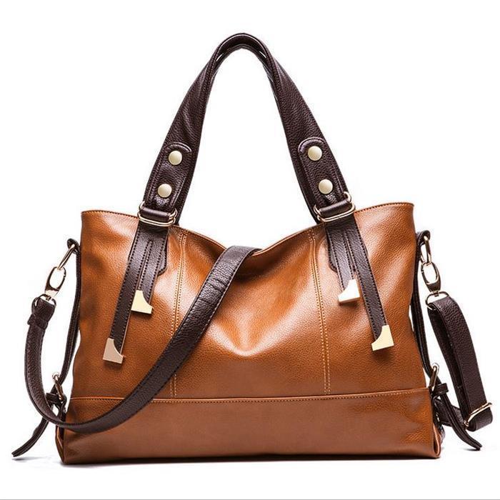 New Women Shoulder Bag desigual Genuine Patent leather Bags Handbag Lichee Pattern Lady Crossbody Tote Fashion Messenger Bags(China (Mainland))