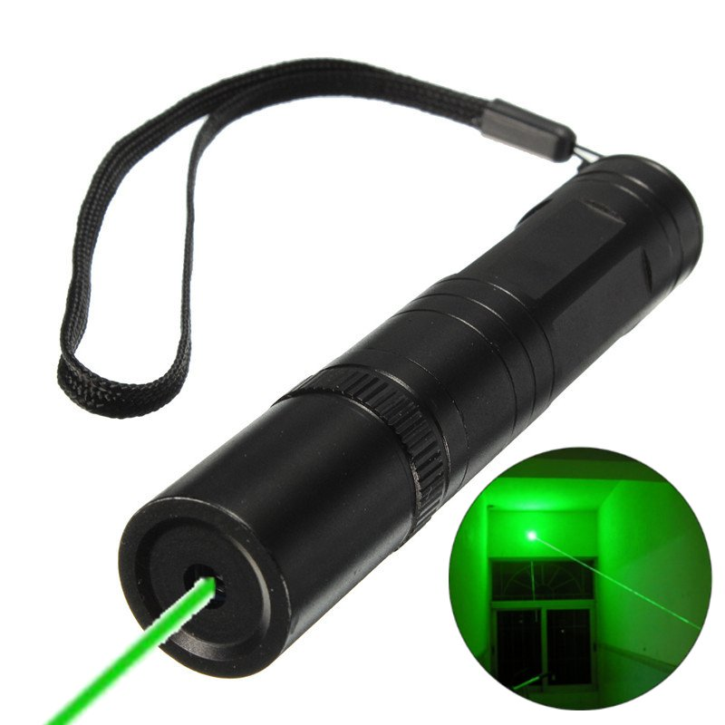 10000m 532nm Green Laser Pointer Pen Continuous Line Focusing Light Visible Lazer Pen Beam Powerful 1mw for Teaching Camping(China (Mainland))