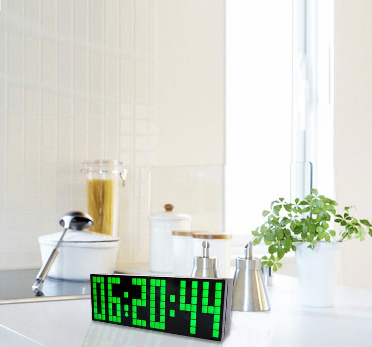 digitale wanduhr led anzeige beurteilungen online. Black Bedroom Furniture Sets. Home Design Ideas