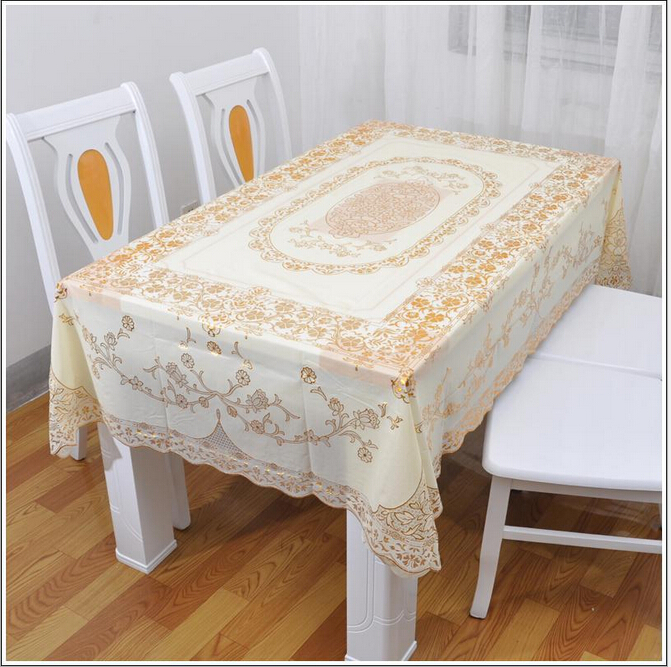 Elegant Hollow Gilding Dining Table Cloth 120400cm  : Elegant Hollow Gilding Dining Table Cloth 120 400cm European Style PVC Floral Home Tablecloth for Wedding from www.aliexpress.com size 671 x 667 jpeg 484kB