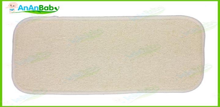 Hemp Organic cotton 34 Layers Inserts Reusable Baby Cloth Diaper